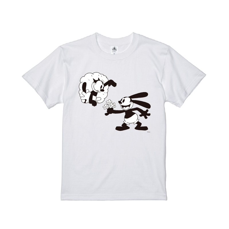 【D-Made】Tシャツ オズワルド・ザ・ラッキー・ラビット&オルテンシア