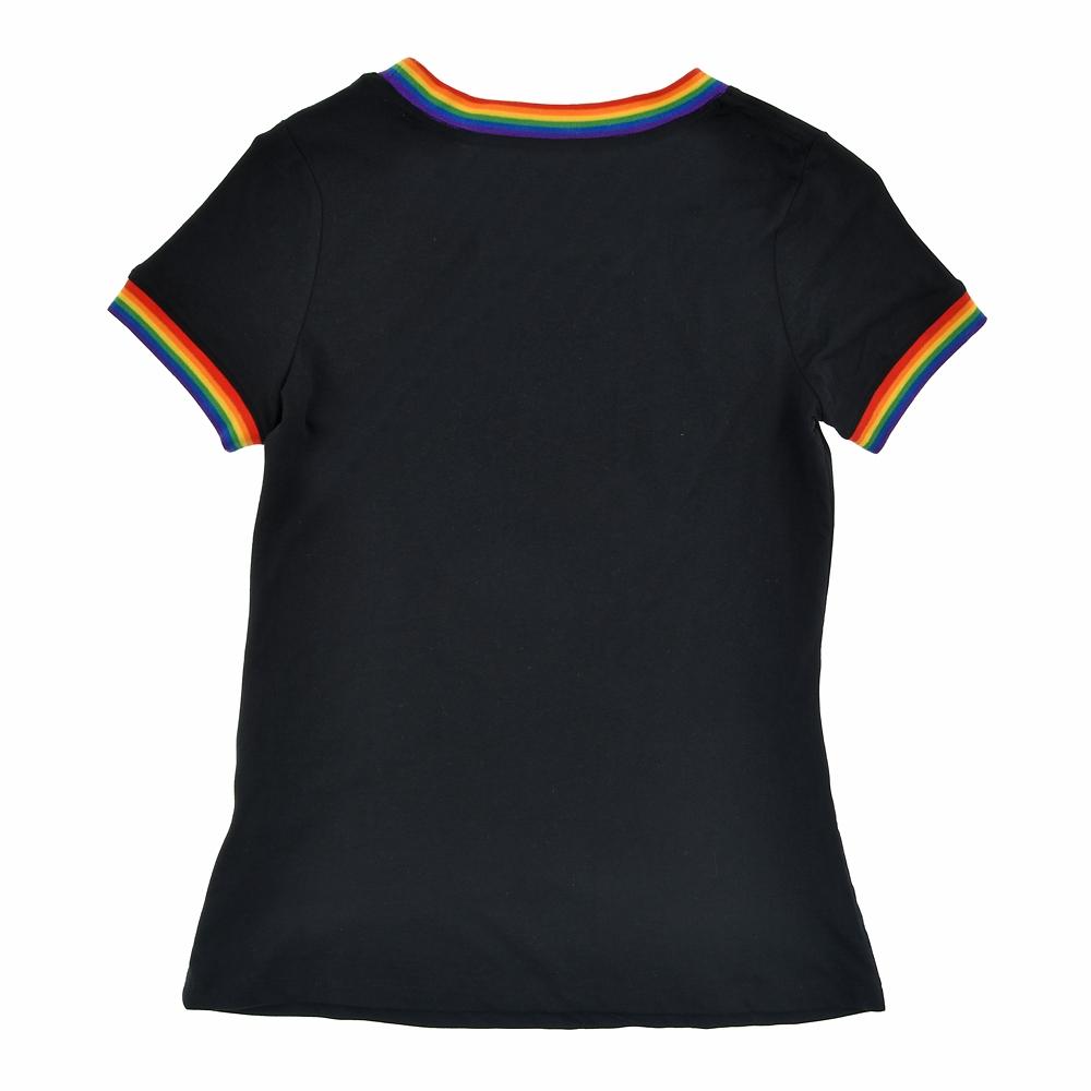 ミッキー 半袖Tシャツ ブラック The Walt Disney Company's Pride Collection