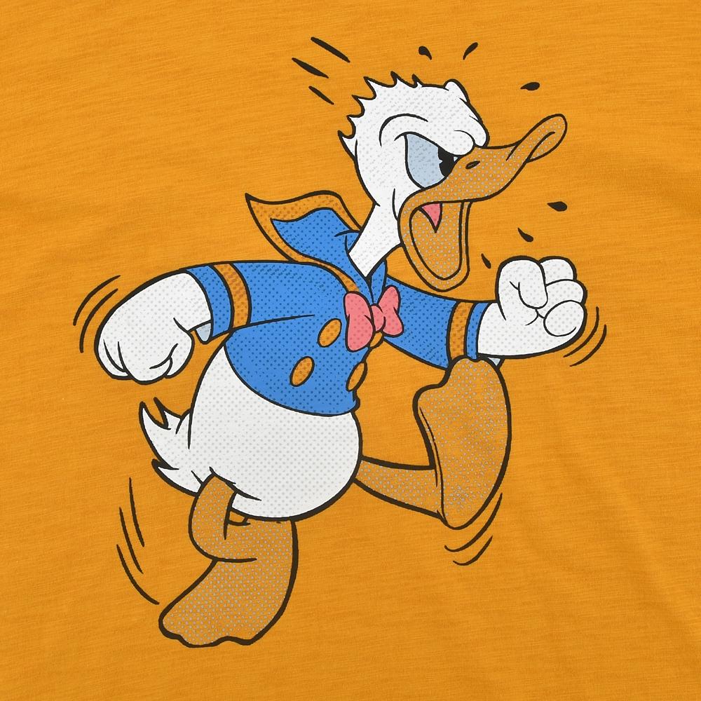 ドナルド 長袖Tシャツ 袖ネームロゴ