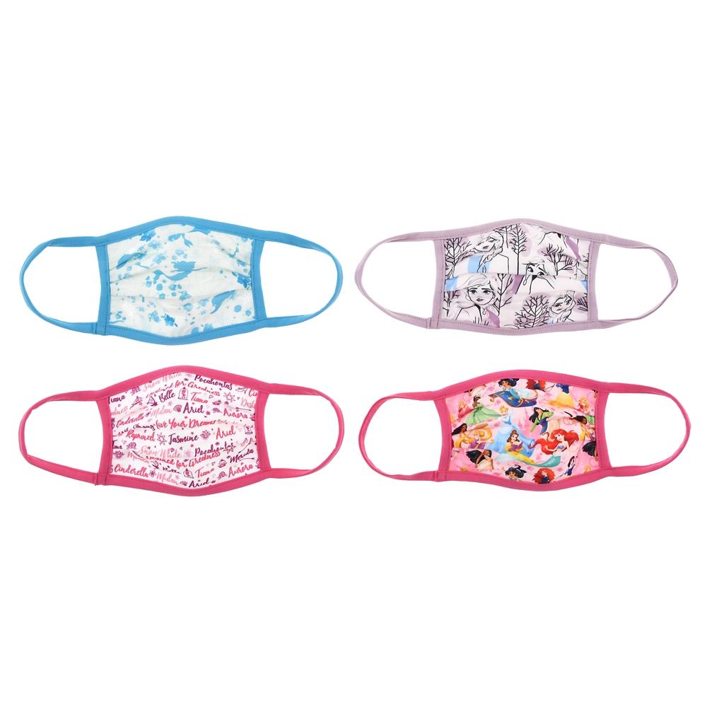 ディズニープリンセス、アナ&エルサ 家庭用布マスク 4枚セット