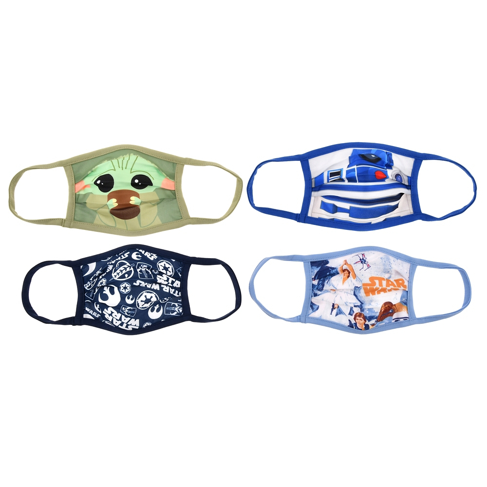 スター・ウォーズ 家庭用布マスク 4枚セット