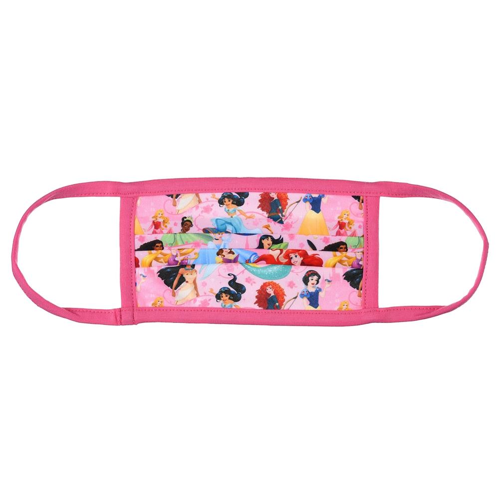 ディズニープリンセス 家庭用布マスク (L) ピンク