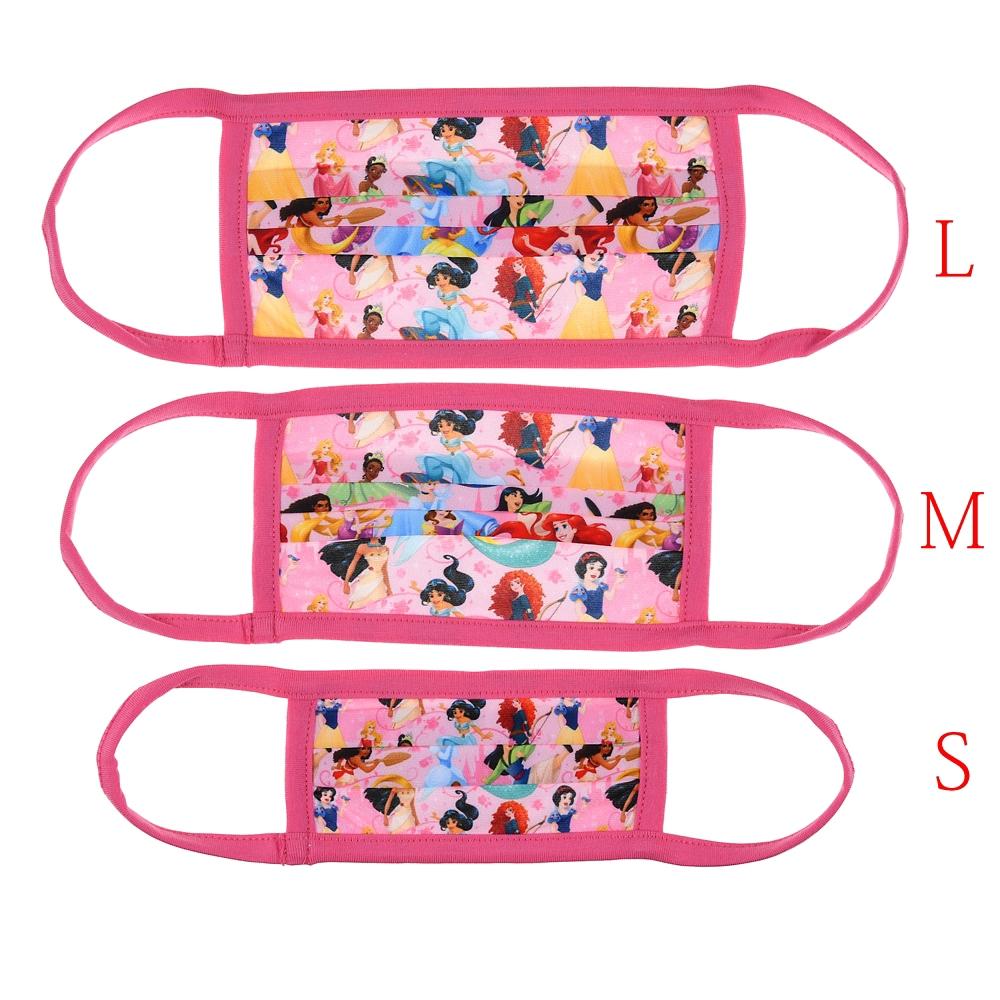 ディズニープリンセス 家庭用布マスク (M) ピンク