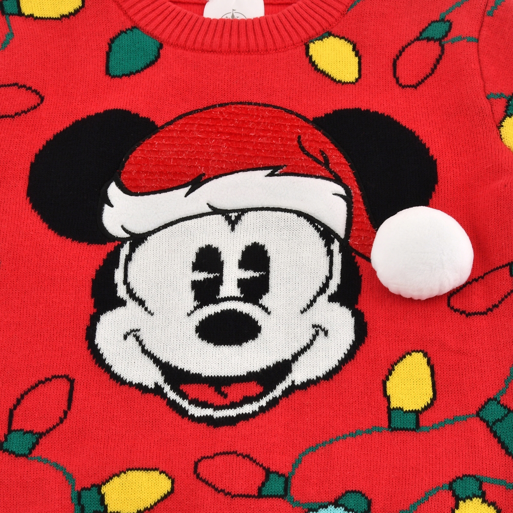 ミッキー キッズ用セーター Disney Christmas 2020