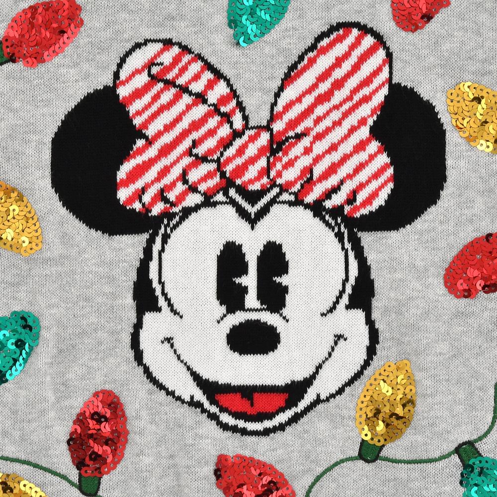 ミニー キッズ用セーター Disney Christmas 2020