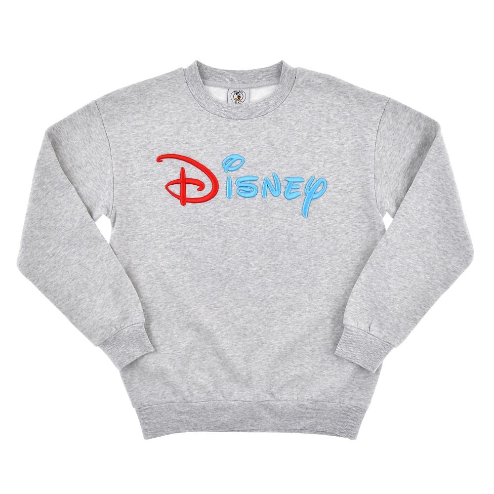 ミッキー&フレンズ トレーナー ロゴ刺しゅう Mickey & Co.
