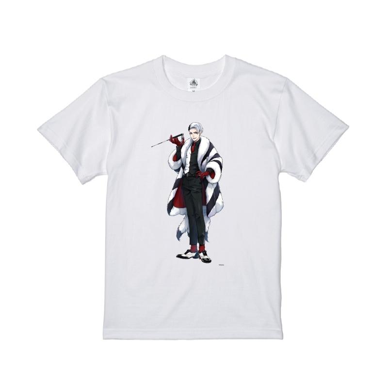 【D-Made】Tシャツ 『ディズニー ツイステッドワンダーランド』 デイヴィス・クルーウェル
