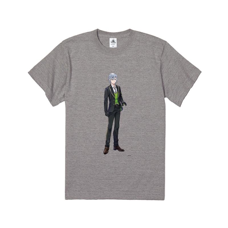 【D-Made】Tシャツ 『ディズニー ツイステッドワンダーランド』 シルバー