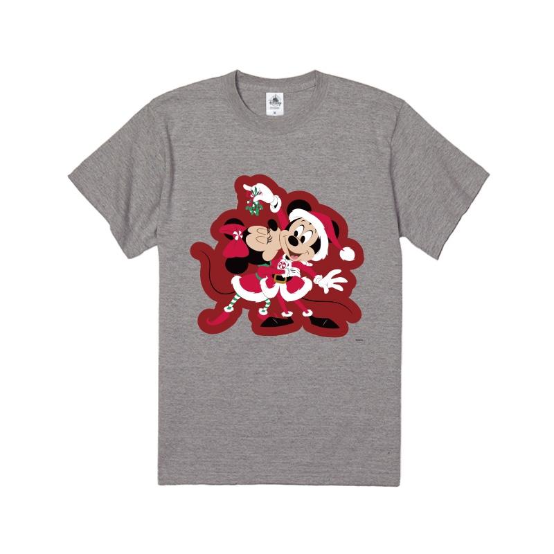 【D-Made】Tシャツ ミッキー&ミニー Disney Christmas 2020