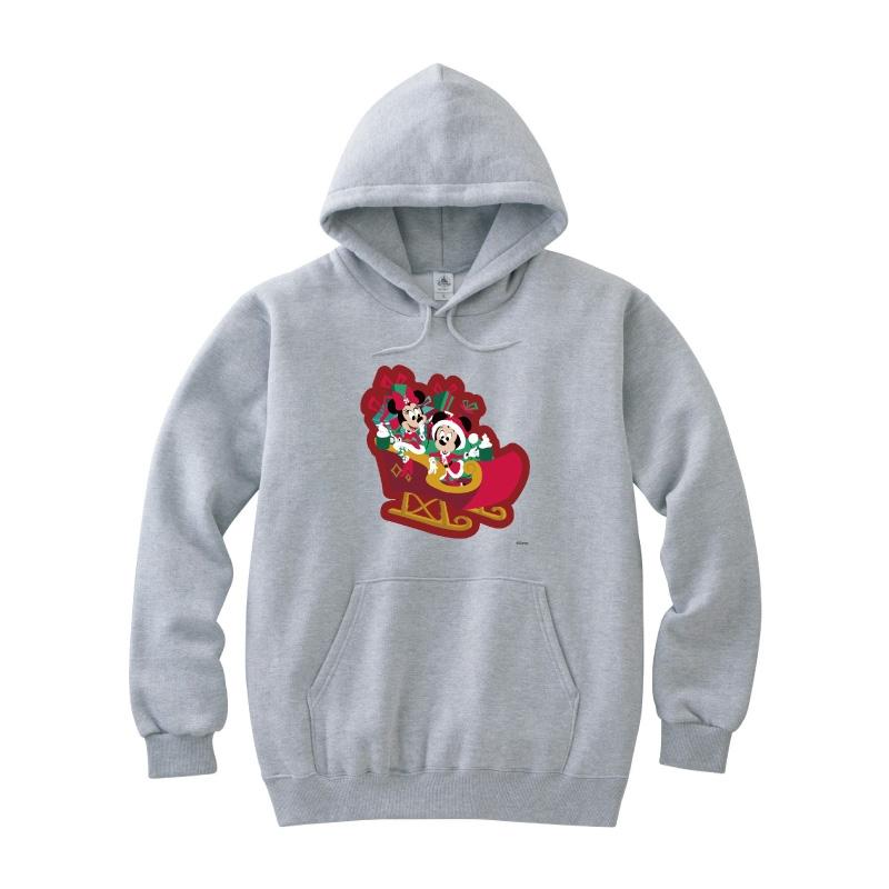 【D-Made】パーカー ミッキー&ミニー Disney Christmas 2020