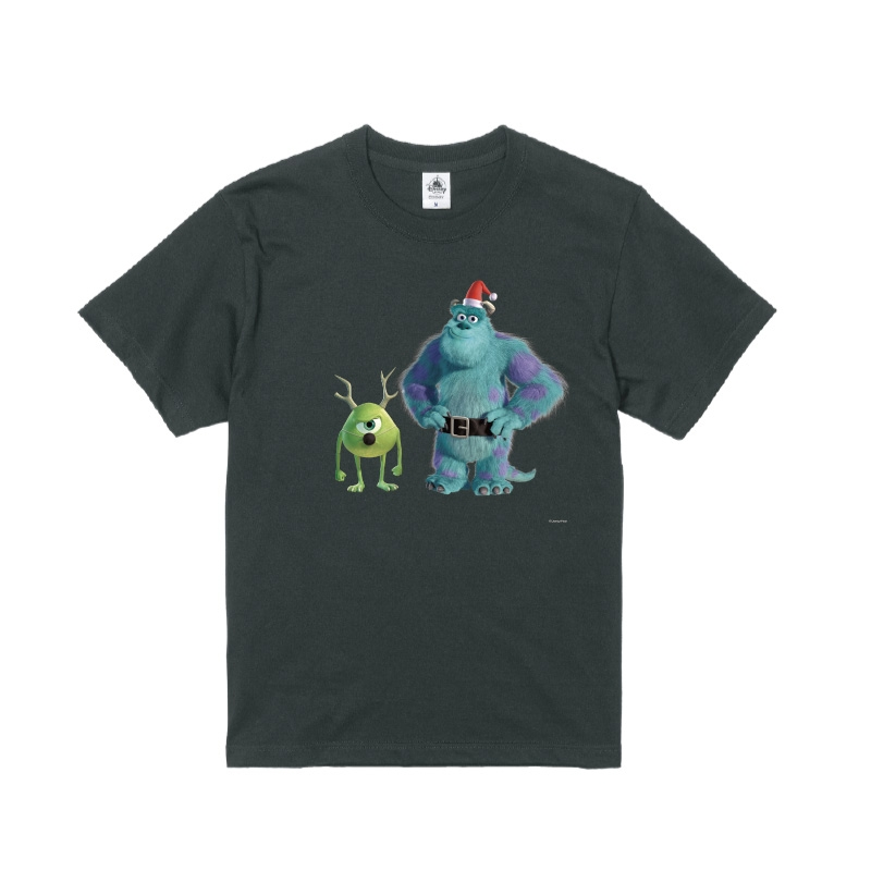 【D-Made】Tシャツ モンスターズ・インク サリー&マイク クリスマス