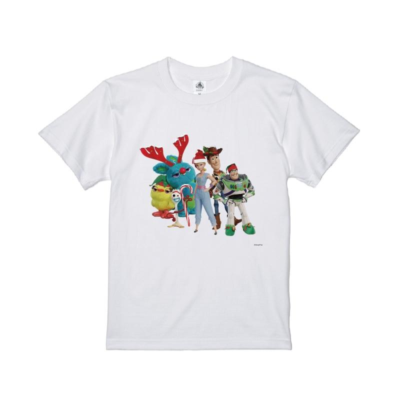 【D-Made】Tシャツ トイ・ストーリー4 クリスマス