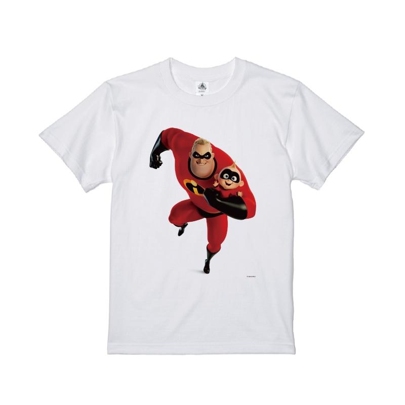 【D-Made】Tシャツ インクレディブル・ファミリー ミスター・インクレディブル&ジャック・ジャック