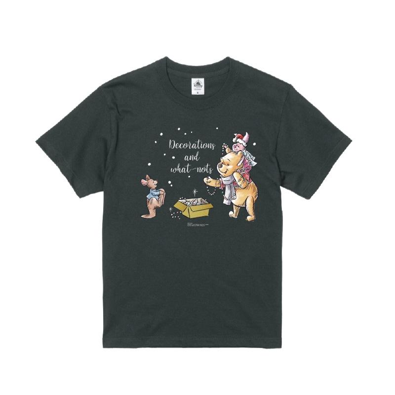 【D-Made】Tシャツ くまのプーさん プー&ピグレット&ルー クリスマス