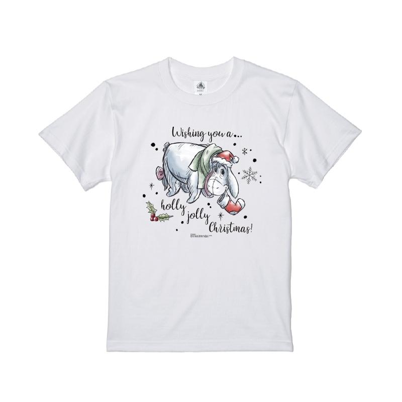 【D-Made】Tシャツ くまのプーさん イーヨー クリスマス