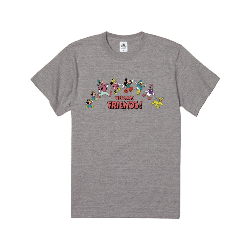 【D-Made】Tシャツ ミッキー&フレンズ