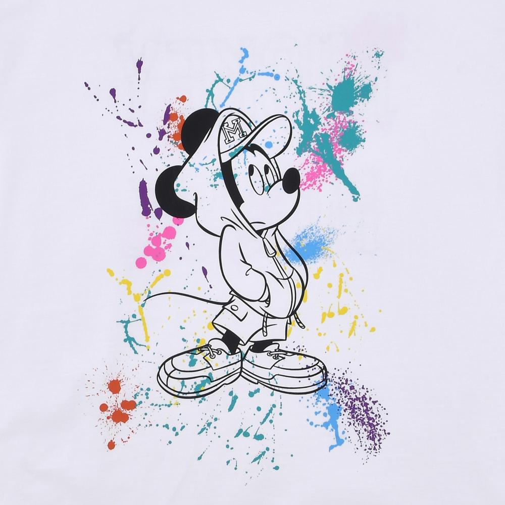 ミッキー 半袖Tシャツ Splash