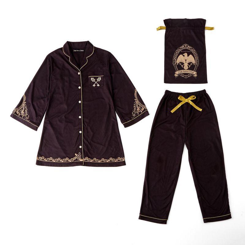『ディズニー ツイステッドワンダーランド』 パジャマ(L) 巾着ポーチ付き