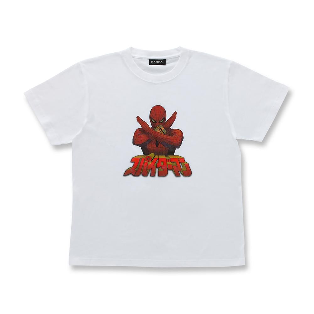 マーベル スパイダーマン 半袖Tシャツ ホワイト 東映テレビシリーズ