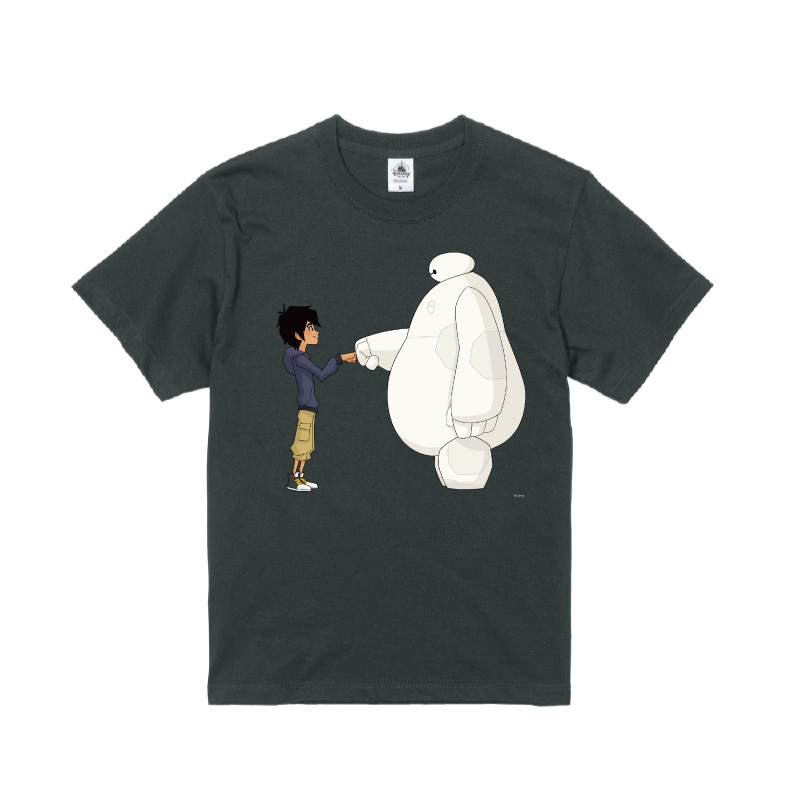 【D-Made】Tシャツ ベイマックス ヒロ・ハマダ&ベイマックス