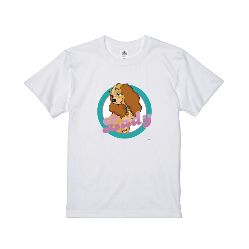 【D-Made】Tシャツ わんわん物語 レディ