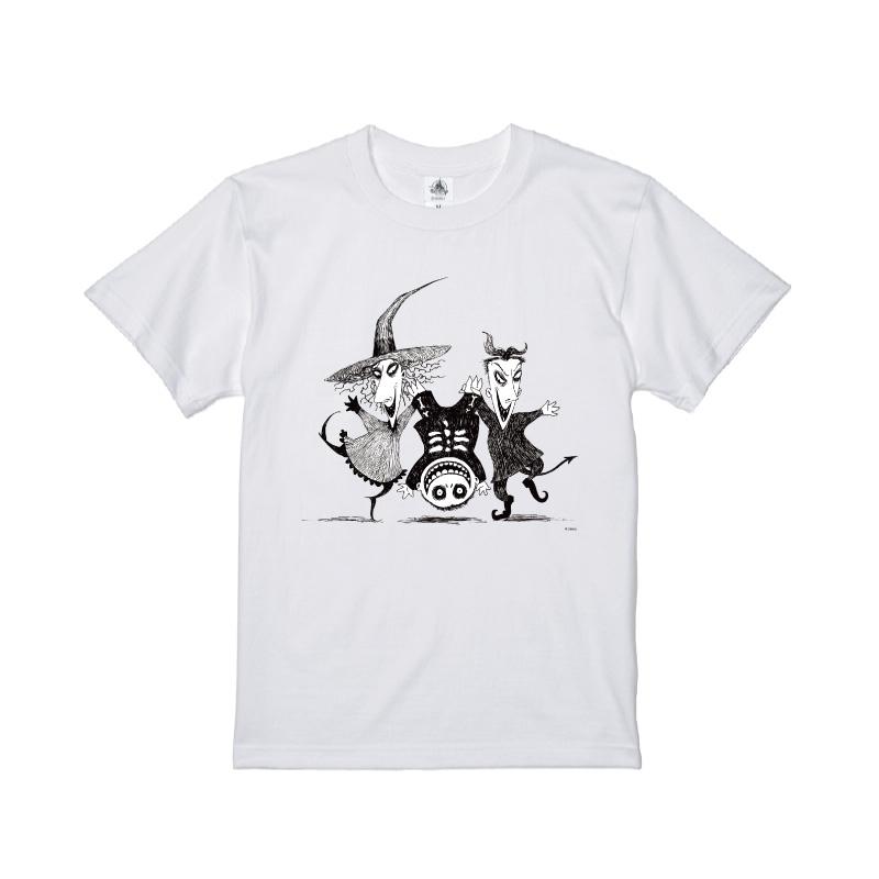 【D-Made】Tシャツ ティム・バートン ナイトメアー・ビフォア・クリスマス ロック&ショック&バレル