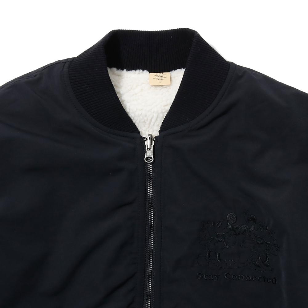 【送料無料】【LEVI'S】 ミッキー&フレンズ リバーシブルボンバージャケット
