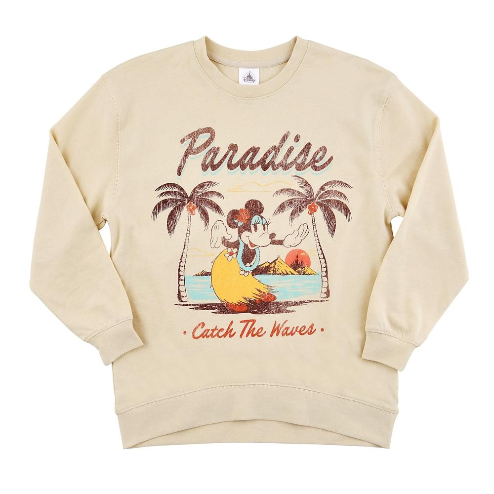【送料無料】ミニー 長袖Tシャツ Paradise Hawaiian