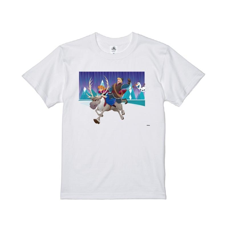 【D-Made】Tシャツ アナと雪の女王 アナ&クリストフ&スヴェン