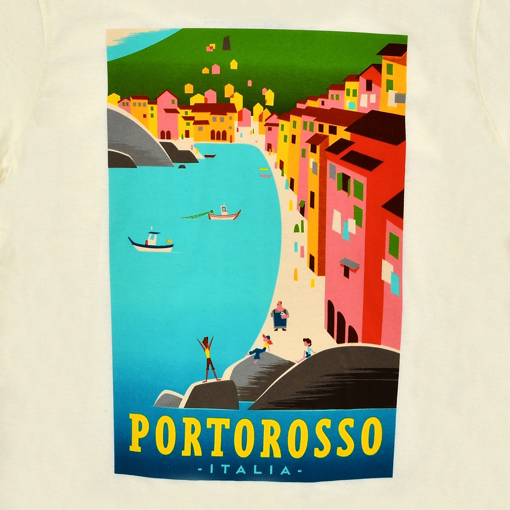 【送料無料】あの夏のルカ 半袖Tシャツ ポルトロッソ 『あの夏のルカ』