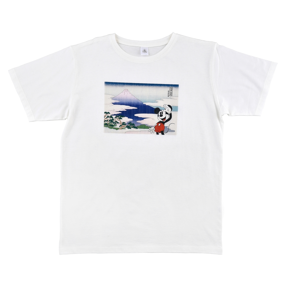 ミッキー 半袖Tシャツ Ukiyoe Japan