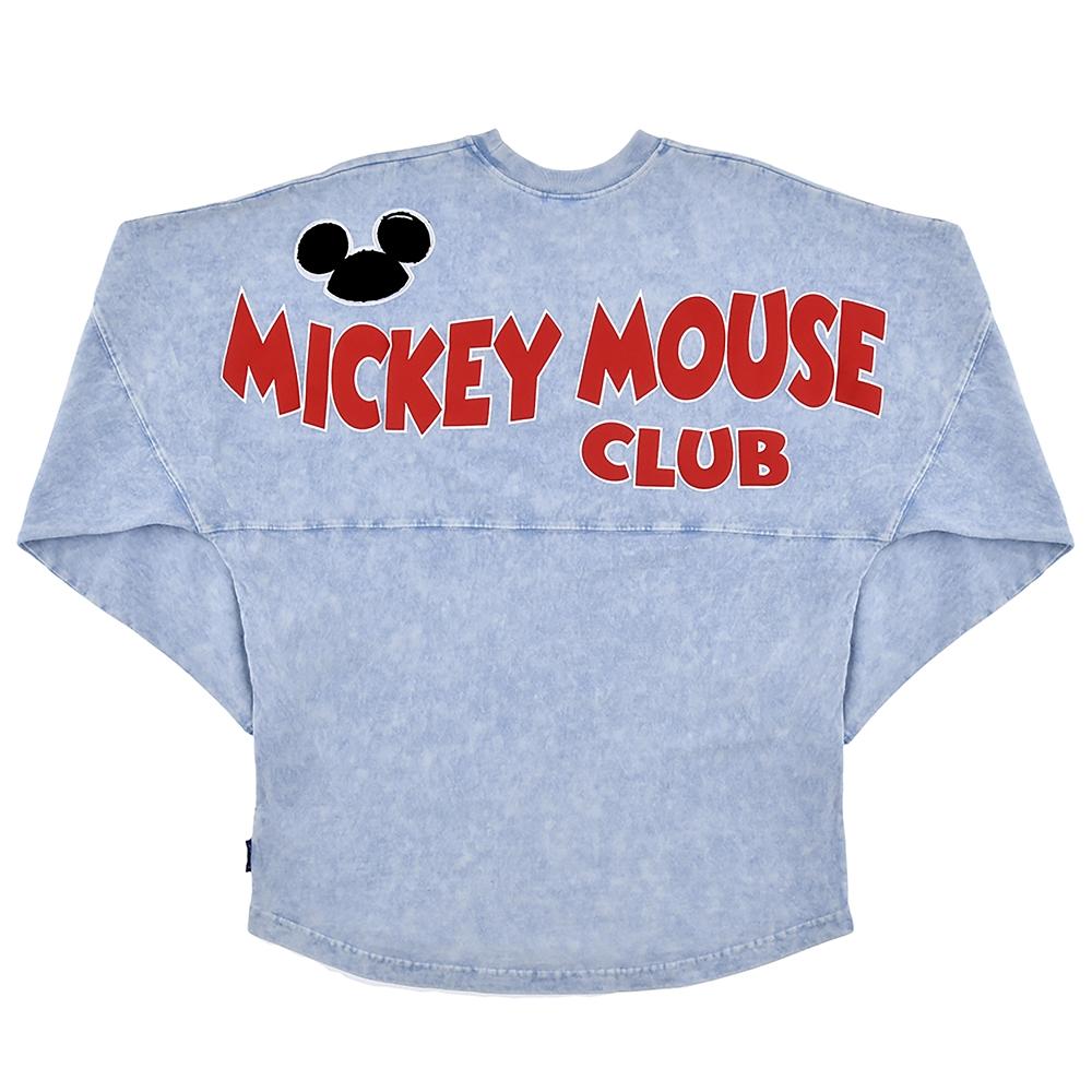 【Spirit Jersey】ミッキー 長袖Tシャツ ミッキーマウス・クラブ