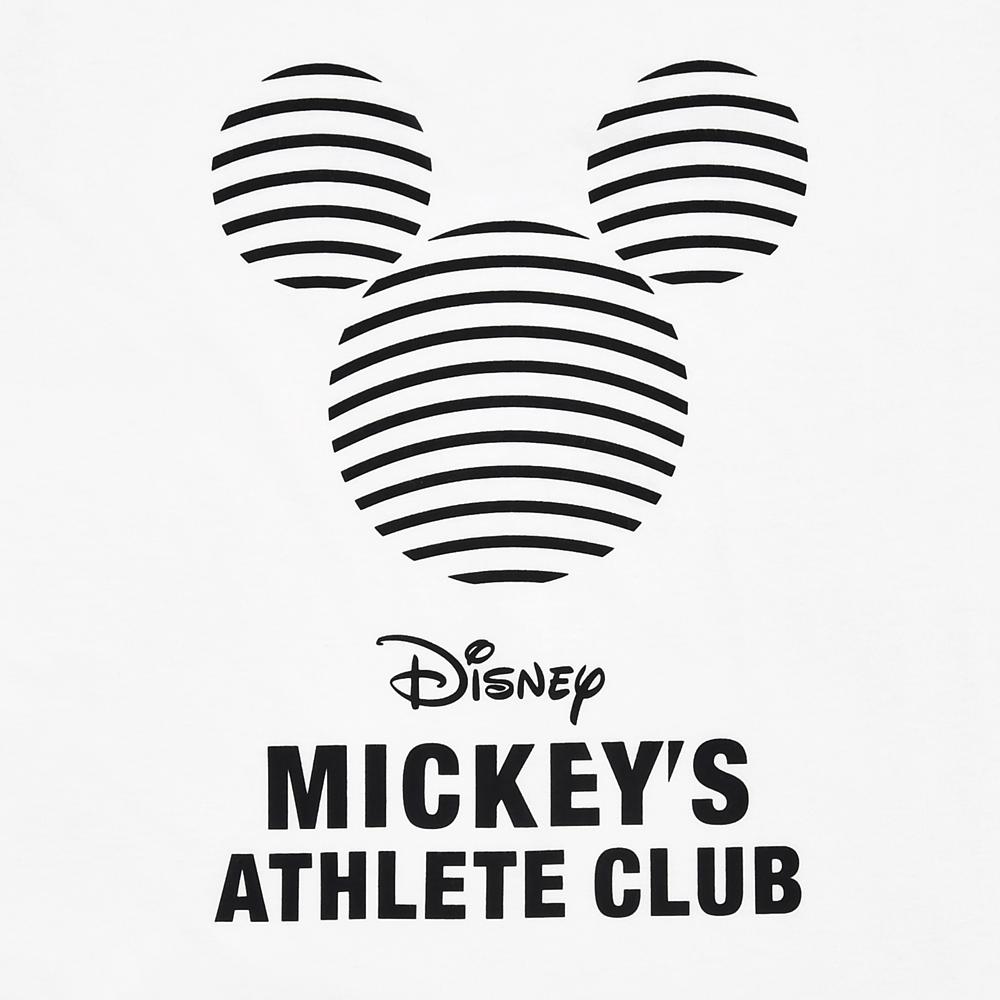 ミッキー&フレンズ 半袖Tシャツ Mickeys Athlete Club