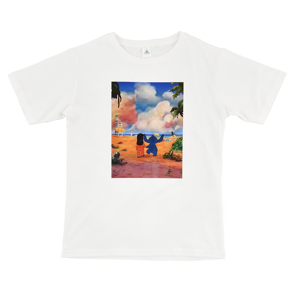 リロ&スティッチ 半袖Tシャツ Tee&Aloha