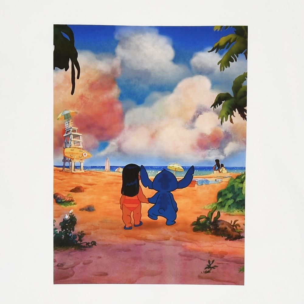 リロ&スティッチ 半袖Tシャツ(L) Tee&Aloha
