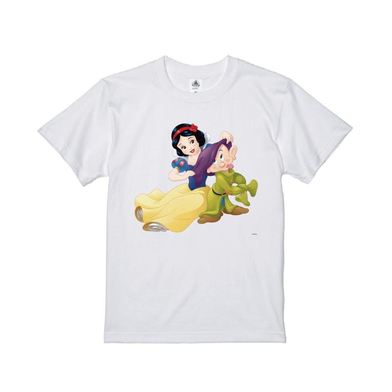 【D-Made】Tシャツ 白雪姫 白雪姫&おとぼけ