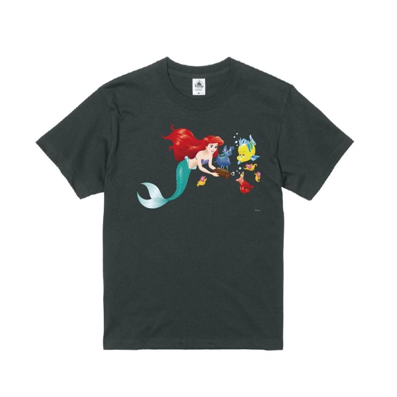 【D-Made】Tシャツ リトル・マーメイド アリエル&フランダー&セバスチャン
