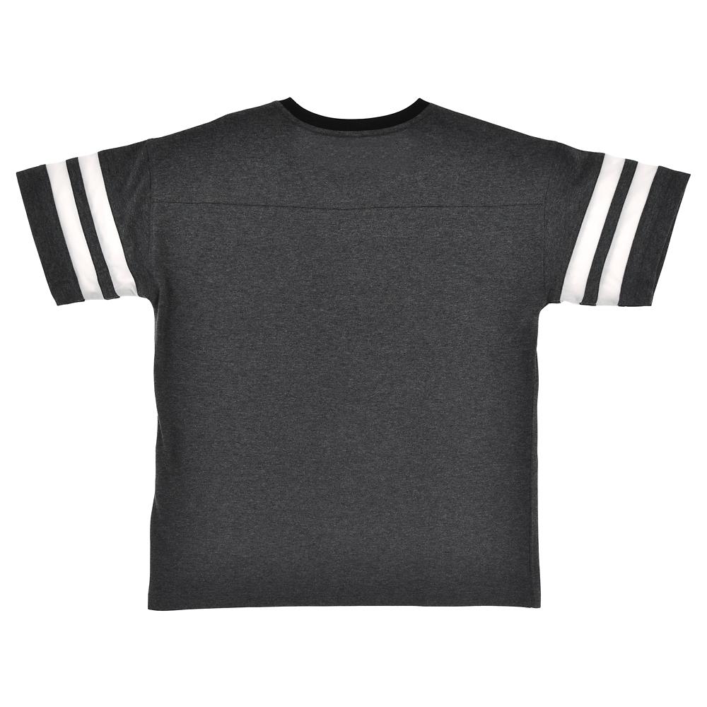ミッキー 半袖Tシャツ 袖ライン