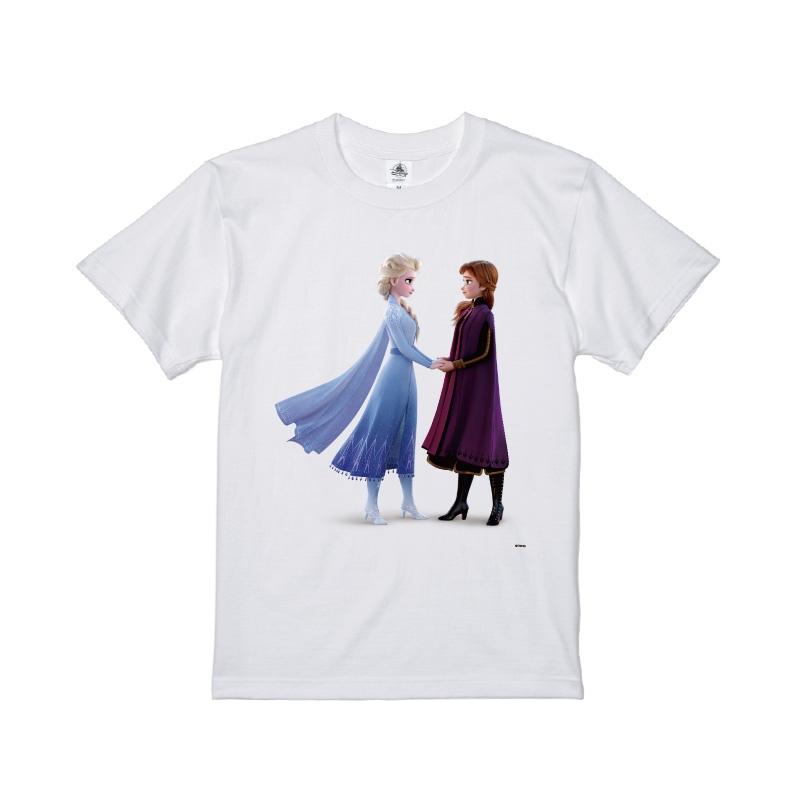 【D-Made】Tシャツ メンズ  アナと雪の女王2 アナ&エルサ