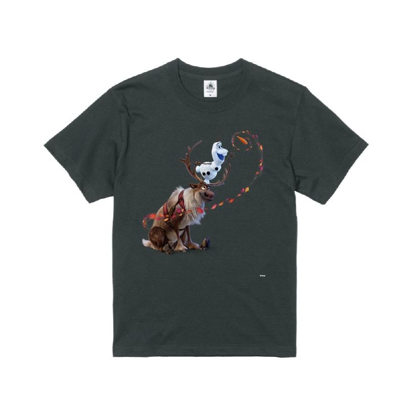 【D-Made】Tシャツ メンズ  アナと雪の女王2 オラフ&スヴェン