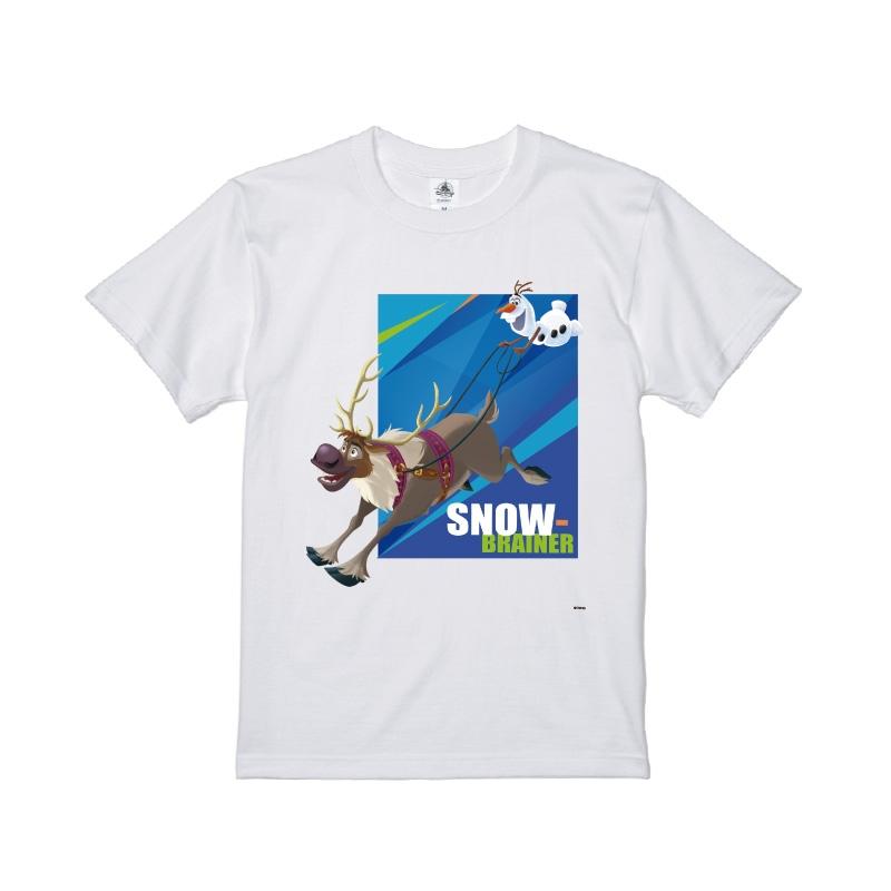 【D-Made】Tシャツ メンズ  アナと雪の女王 オラフ&スヴェン