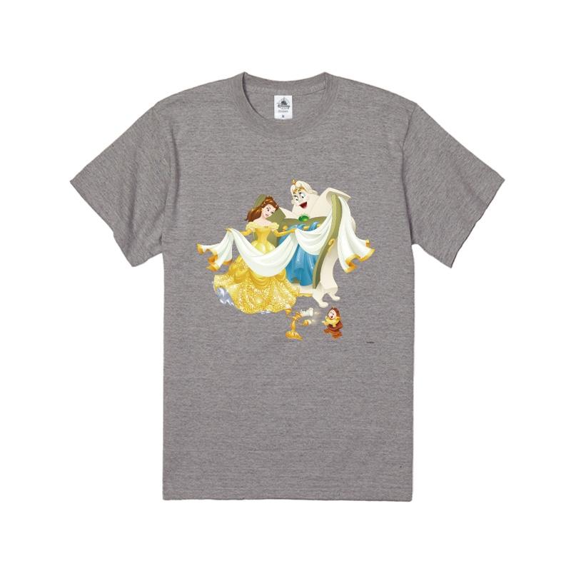 【D-Made】Tシャツ  美女と野獣 ベル&ルミエール&コグスワース