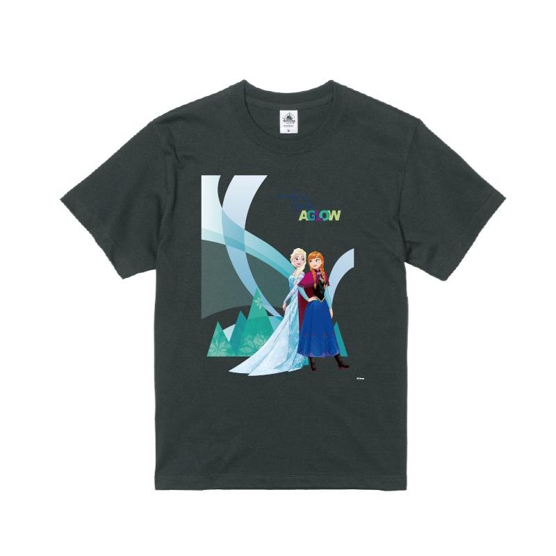 【D-Made】Tシャツ メンズ  アナと雪の女王 アナ&エルサ