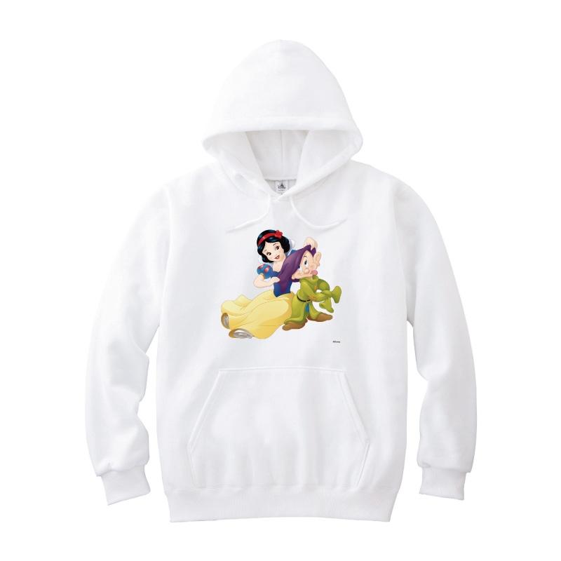 【D-Made】パーカー 白雪姫 白雪姫&おとぼけ