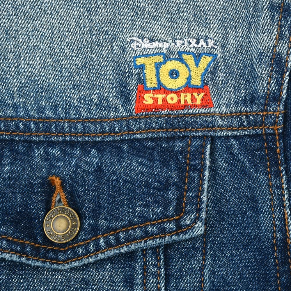 トイ・ストーリー ジャケット デニム 刺しゅう Pixar Better Together