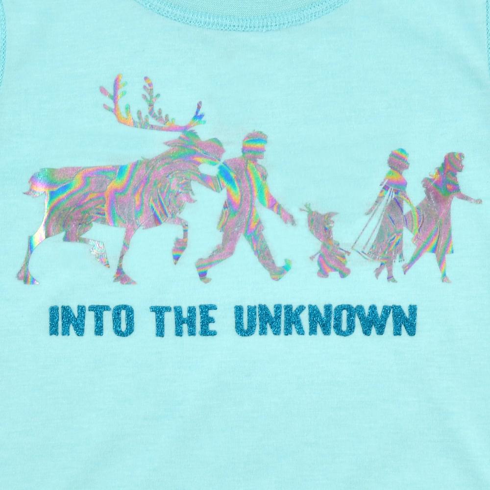 アナと雪の女王2 キッズ用半袖Tシャツ Sensory-Friendly