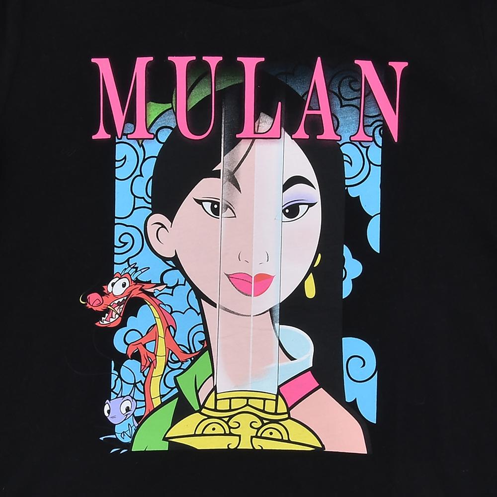 ムーラン、ムーシュー、クリキー 半袖Tシャツ ブラック