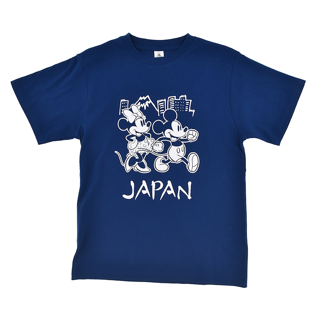 【送料無料】ミッキー&ミニー 半袖Tシャツ JAPAN