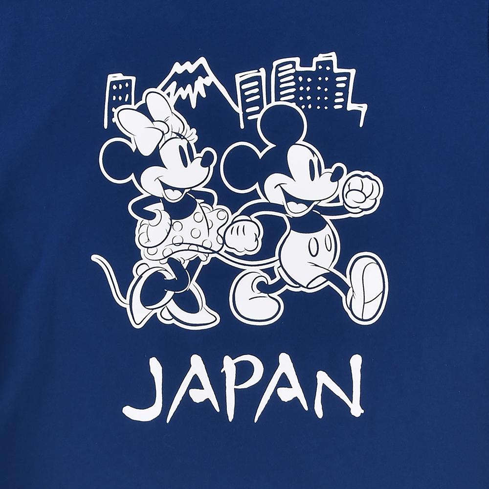 ミッキー&ミニー 半袖Tシャツ JAPAN