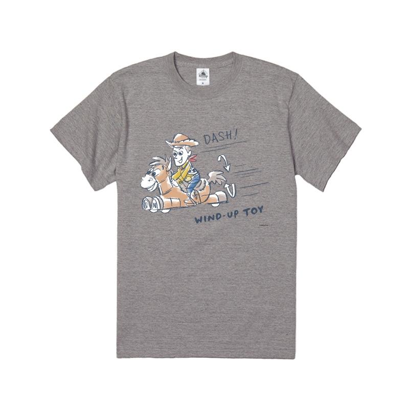 【D-Made】Tシャツ トイ・ストーリー ウッディ&ブルズアイ